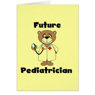 Cartes Futur pédiatre