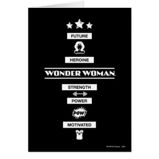 Cartes Future femme de merveille de héroïne
