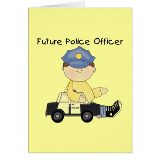 Cartes Futurs T-shirts et cadeaux de policier