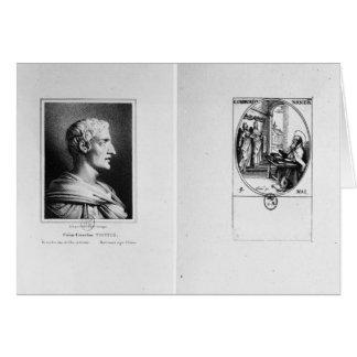 Cartes Gaius Cornélius Tacite gravé par Julien