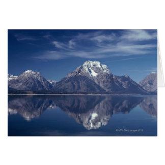 Cartes Gamme de montagne grande de Teton