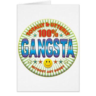 Cartes Gangsta totalement