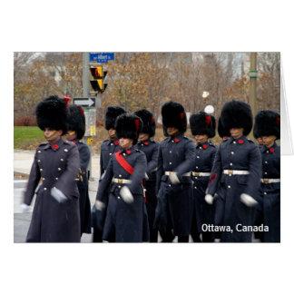Cartes Gardes d'honneur