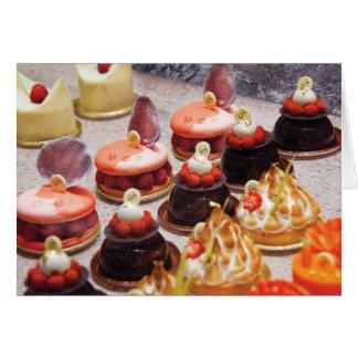 Cartes Gâteau - Bellagio - Le Dessert