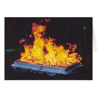 Cartes Gâteau brûlant en parc de New York City