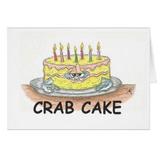 Cartes Gâteau de crabe