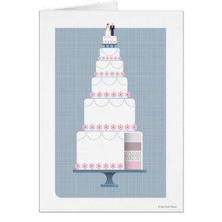 Cartes Gâteau de mariage