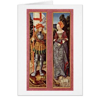 Cartes Gauche : Droite de St George : St.Agnes par Hans