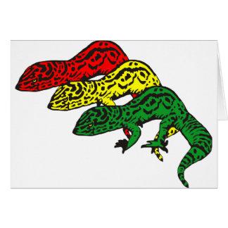 Cartes Geckos de Rasta