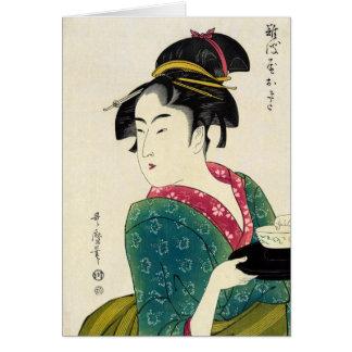 Cartes Geisha de Naniwaya Okita