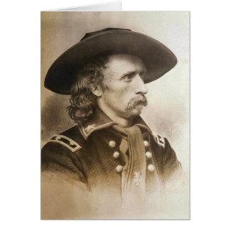 Cartes George Armstrong Custer circa des 1860s