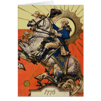 Cartes George Washington à cheval