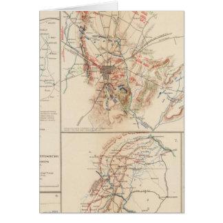 Cartes Gettysburg
