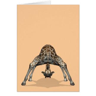 Cartes Girafe flexible