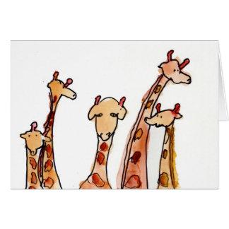 Cartes Girafes • Hutcheson maximum, âge 11