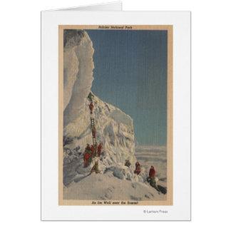 Cartes Glaciéristes en parc national plus pluvieux,