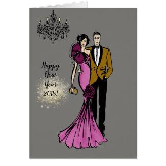 Cartes Glamour Couple