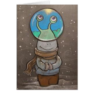 Cartes globe de l'anti-neige des sluggo