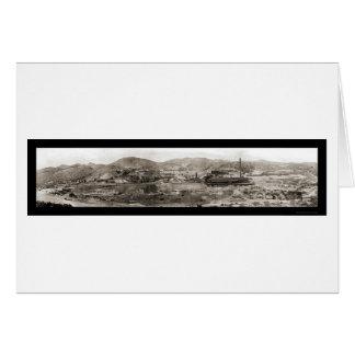 Cartes Globe de mine de cuivre, photo 1909 d'AZ