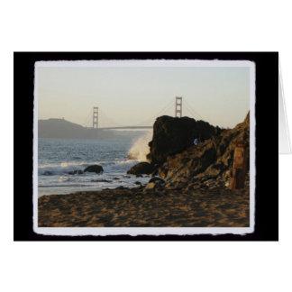 Cartes Golden Gate de plage de la Chine