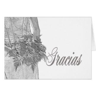 Cartes Gracias La Sposa di Sabbia Wedding