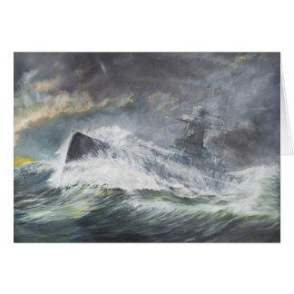 Cartes Graf Spee entre dans l'Océan Indien le 3 novembre