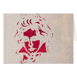 Cartes Graffiti of Beethoven