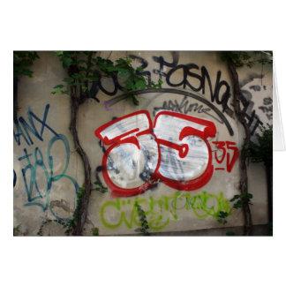 Cartes Graffiti suisse, Bâle, Suisse