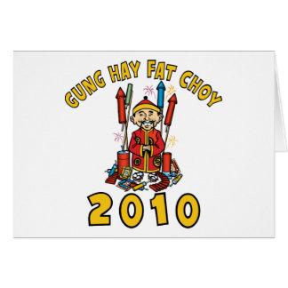 Cartes Graisse 2010 de foin de Gung Choy