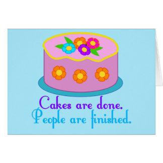 Cartes Grammaire de gâteau