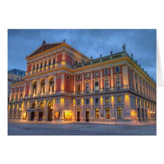 Cartes Grand hall de saucisse Musikverein, Vienne,