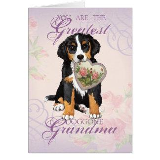 Cartes Grand-maman de coeur de Berner