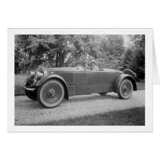 Cartes Grande belle voiture, les années 1900 tôt