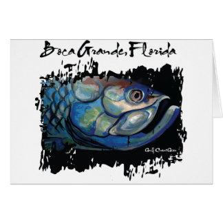 Cartes Grande tête bleue de tarpon de GCG Boca