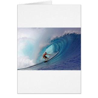 Cartes Grandes îles bleues surfantes de Mentawai de vague