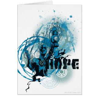 Cartes Graphique bleu 3 de lanterne