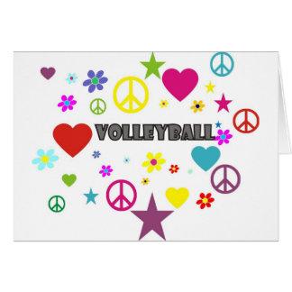 Cartes Graphiques mélangés de volleyball