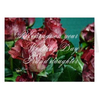 Cartes GRD-zz des roses WD 11 de Megan