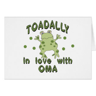 Cartes Grenouille d'Oma d'amour de TOADALLY