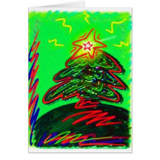 Cartes Griffonnage d'arbre