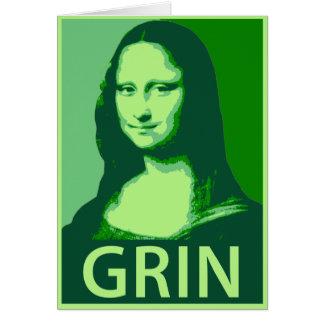 Cartes Grimace de Mona Lisa