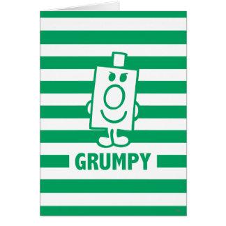 Cartes Grimace malfaisante de M. Grumpy | et rayures