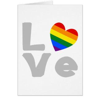 Cartes Gris gai d'amour