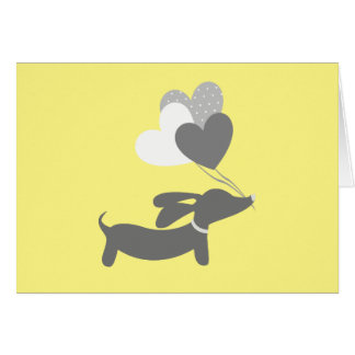 Cartes grises jaunes de Merci de baby shower de