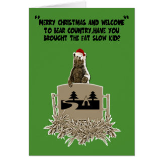 Cartes Gros Noël drôle de plaisanterie