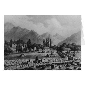 """Cartes Guanta, de """"Historia De Chili"""", 1854"""