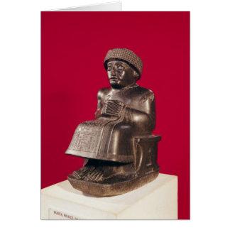 Cartes Gudea, prince de Lagash, a consacré à