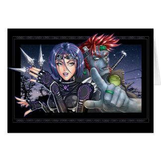 Cartes Guerriers de Manga