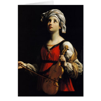 Cartes Guido Reni- St Cecilia