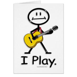 Cartes Guitare acoustique